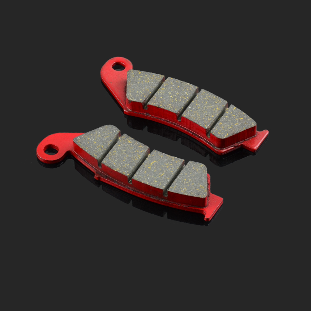 Motorcycle Rear Brake Pads Fit For HONDA RVF 750 RR 94-98 RVF 400 RR 94-96 NSR 250 RR NR 750 N VFR 750 RJ NSR 250 R2R 94