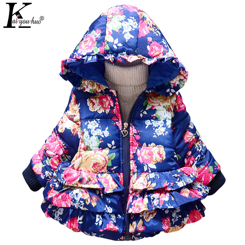 Winter Coats For Girls Jackets Children Clothing Fashion Baby Coats Casual Hooded Down Jackets For Girls Outerwear Kids Clothes 2017 new winter sytle children clothing fashion cartoon print girls down & parkas 1 6y hooded children jackets coats for girls