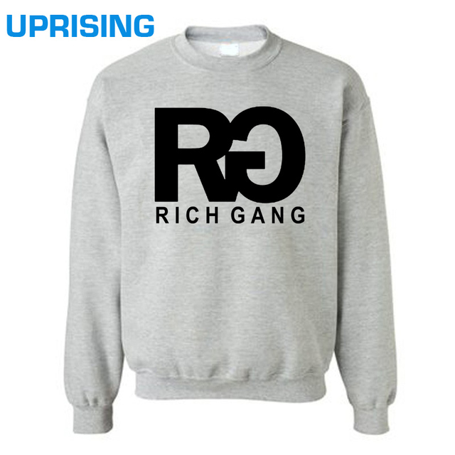 RICH GANG Hoodies  TOP TEE  Sweatshirts HIPSTER TUMBLR DRAKE LIL WAYNE YMCMB YOLO SWAG Tee  Sweatshirts Unisex More  and Colors