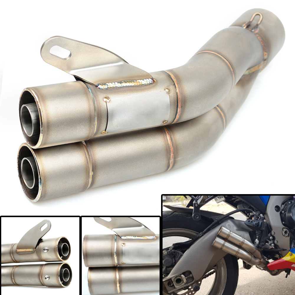 Motorcycle Motorcross Universal 36-51MM Scooter Exhaust Pipe For Suzuki GSXR1000 GSXR600 GSXR750 2006-2010 GSXR750 2004-2005 цена
