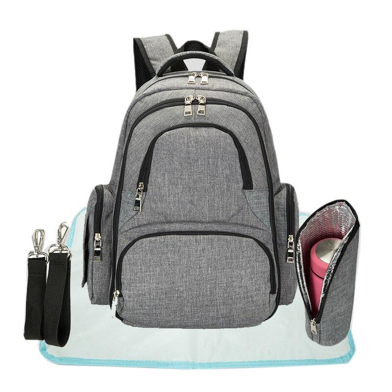 Diaper Bag Waterproof Nappy Bag Kits Mummy Maternity Travel Backpack Nursing Handbag Large Capacity Baby Care Bag For Stroller