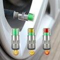 4 ШТ. Стайлинга Автомобилей 2.2bar 32PSI Автомобилей Шин Давления в шинах Клапан Контроля Давления в Шинах стволовых Caps Датчик Глаз Оповещения Воздуха Инструменты комплект