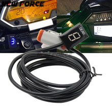 Motorcycle LCD Electronics 6 Speed 1-6 Level Gear Indicator Digital Gear Meter For Harley DAVIDSON 883 2002-2017 цена 2017