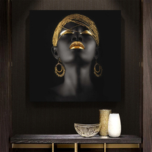 70x70cm - Canvas Painting Wall Art Pictures Prints Black Woman on Canvas No Frame Home Decor Wall Poster Decor for Living Room canvas painting wall art pictures prints colorful woman on canvas no frame home decor wall poster decoration for living room