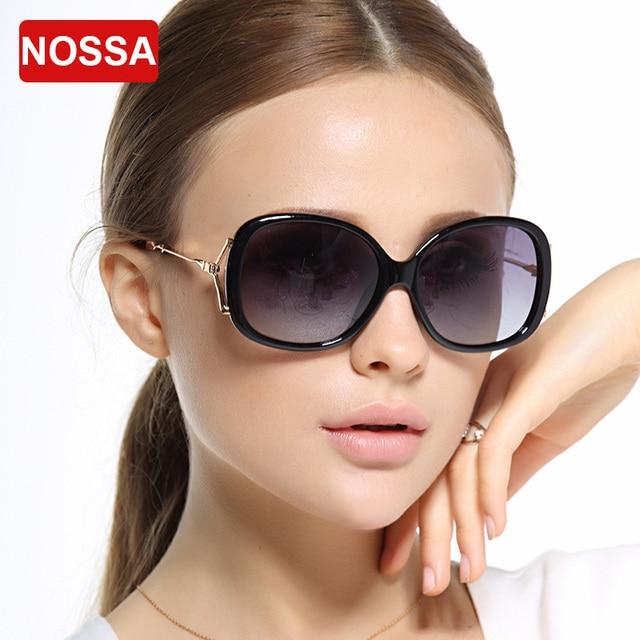 NOSSA High Definition Lens Women's Sunglasses Female Fashion Polarized Sunglasses Luxury Brand Goggles