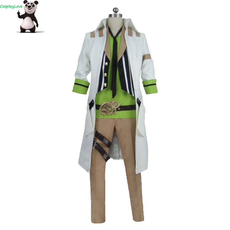 CosplayLove Code: Realize Guardian Of Rebirth Victor Frankenstain Cosplay Costume Custom Made For Christmas Halloween
