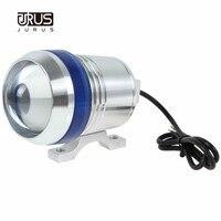 JURUS U3 1 pc אופנוע עמיד למים פנס ערפל מנורות ספוט LED 30 W 1200LM גבוה נמוך Beam הנהיגה פלאש ראש אורות