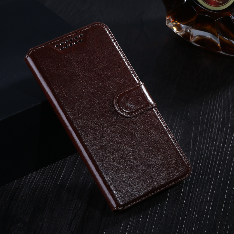 Leather case For Alcatel A30 Fierce 2017 / Tmobile revvl / A30 Plus Flip cover housing For Alcatel A 30 Plus A30Plus Phone case image
