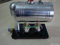 Горячий живой паровой двигатель цилиндр Unibody кипятильный Образование игрушка DIY Gl-001