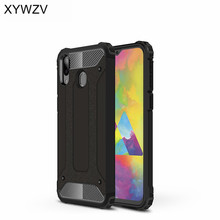 For Samsung Galaxy M20 Case Shockproof Armor Rubber Hard Phone Cover Fundas