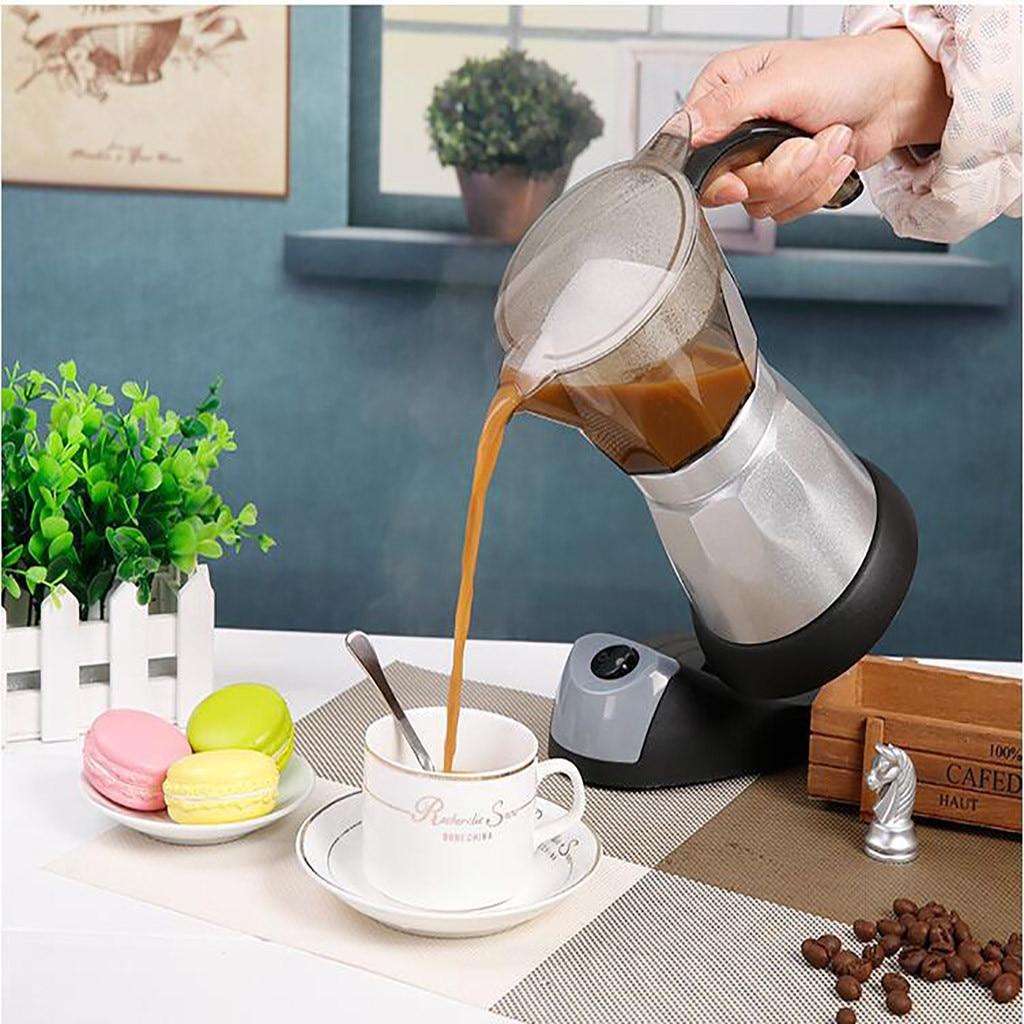 Best Selling 2019 Products Electric Coffee Maker Moka Pot Espresso Coffee Percolator 300ml EU Plug #30