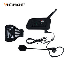 1200M Soccer Referee BT Intercom Interphone Headset Bluetooth Motorcycle Helmet Interphone Motocicleta Intercomunicador