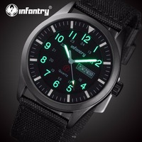 INFANTRY Mens Watches Top Brand Luxury Military Watch Men Daytona Luminous Ultra Thin Sport Watches for Men Relogio Masculino