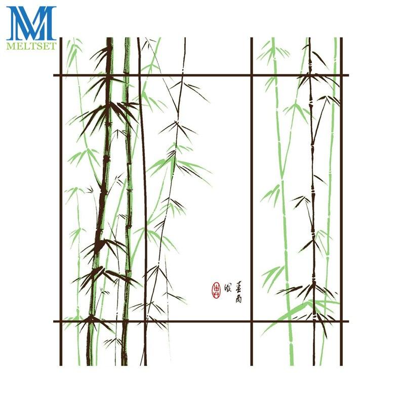 Bambú Productos de Poliéster Impermeable Baño Cortina de Ducha Cortina de Baño