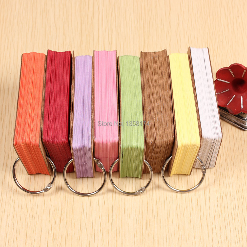 50pcs pack 9 kraft colored paper gift cards tags for for Colour paper craft