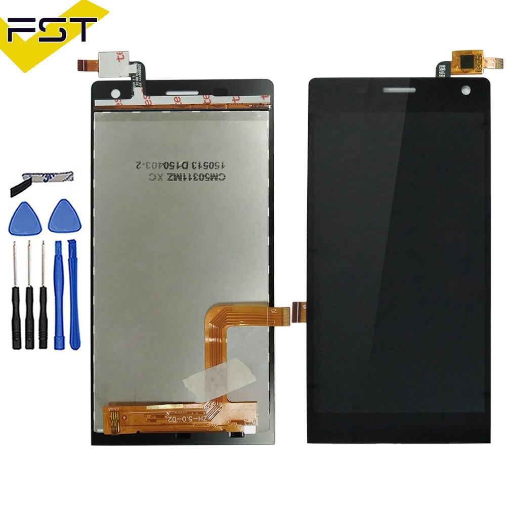 5.0 pouce Pour DEXP Ixion MS150 MS 150 Écran lcd + Écran Tactile Digitizer Assemblée Pièces De Rechange + Outils