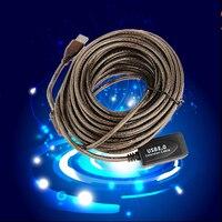 NOYOKERE 30F Ft USB 2.0 Cable de Extensión de Alta Velocidad Activo macho A Hembra Con Refuerzo Repetidor 10 M 10 metros