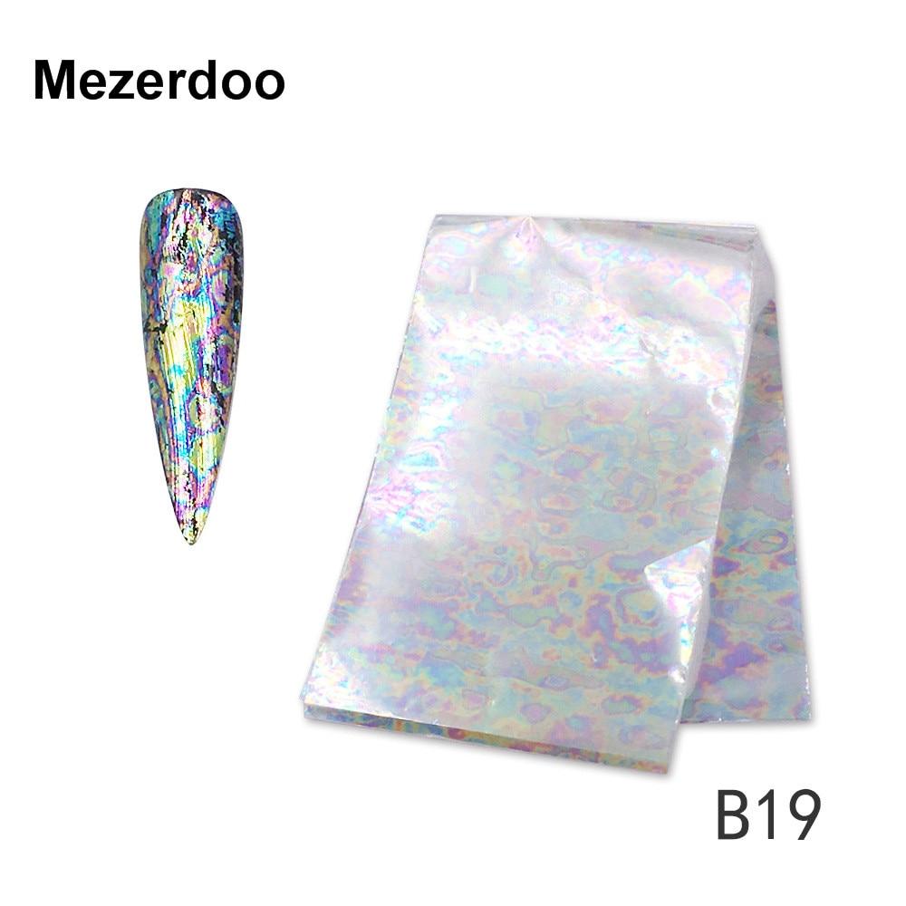 Mezerdoo 5 Stücke Nagel Kunst Regenbogen Transparenten Hight licht ...