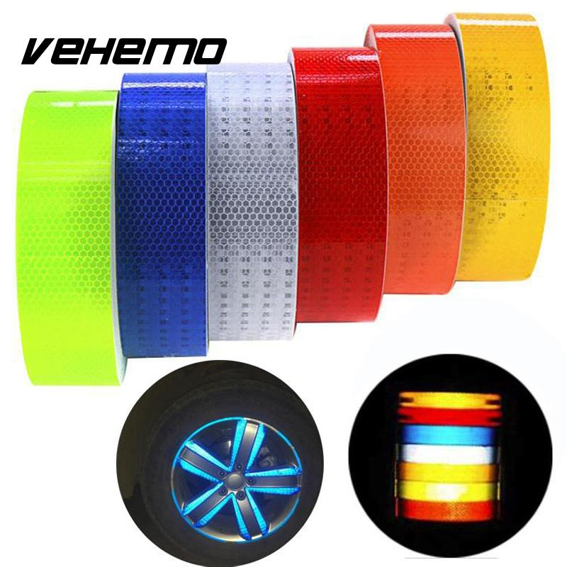 5x300cm Car Reflective Tape Sticker Car Stickers Brand Decoration Film Motorcycle Safe Reflect Safety Warning Tape Car-styling