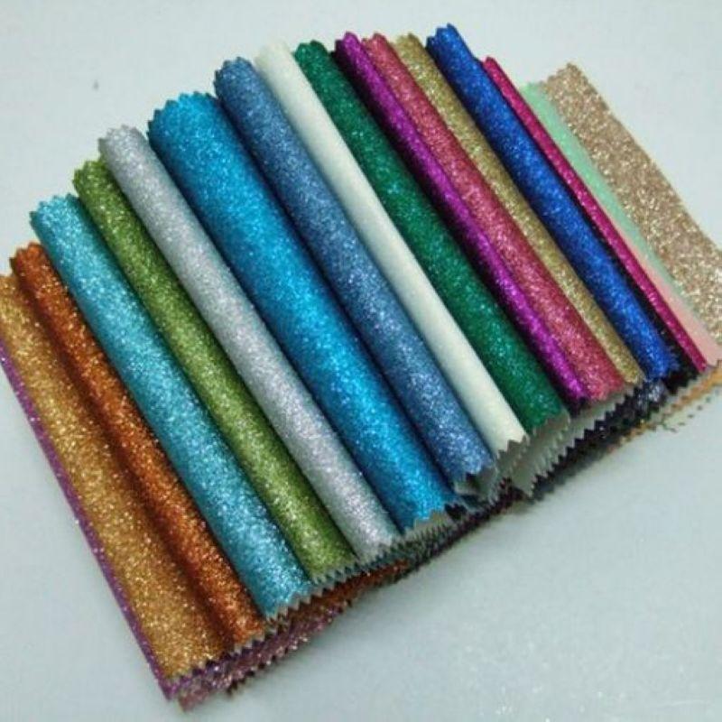 50 meter 2014 Chinese PU wallpaper glitter fabric for wallpaper wall ...