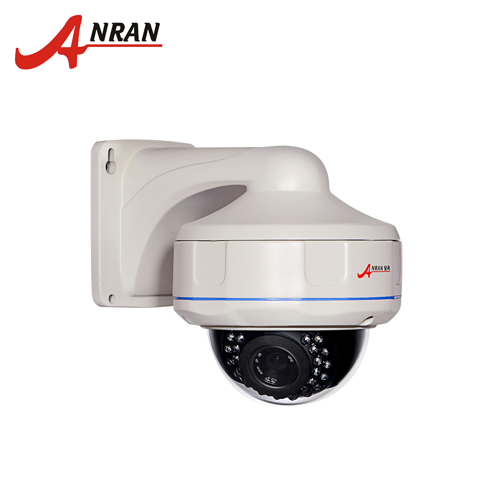 ANRAN HD 2.0MP Dome Camera POE IP CCTV Camera H.264 Indoor Vandalproof Security Camera 1920*1080 Full HD  P2P Onvif IP Camera