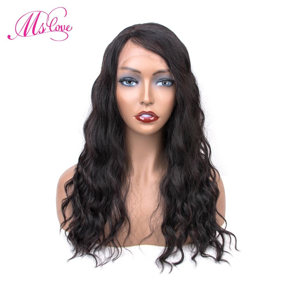Perruque de cheveux humains avant de dentelle perruque avant brésilienne de vague naturelle avec des cheveux de bébé