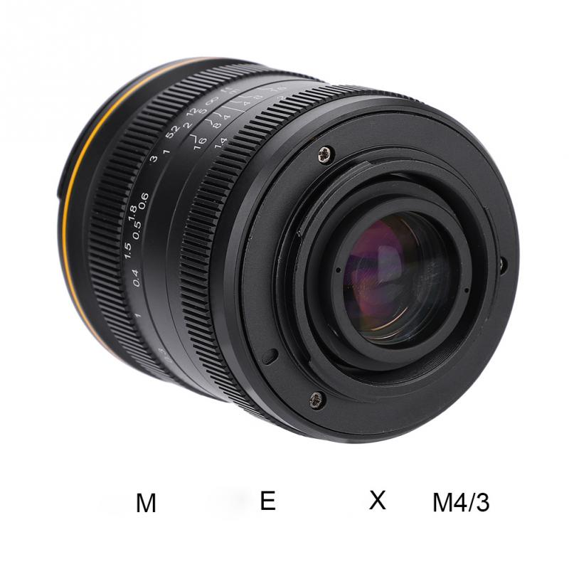 Kamlan 28mm f1 4 Wide Angle APS C Large Aperture Manual Fo cus Lens for Mirrorless