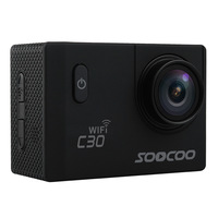 SOOCOO C30 30m Waterproof 4K WiFi G sensor Anti shake Sports Action Camera with Adjustable Viewing Angles Support Remote Control