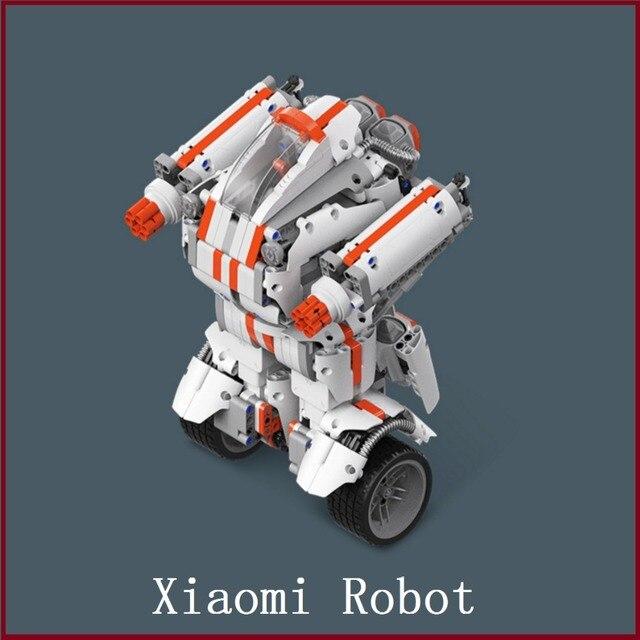 Xiaomi Робот Строительный Блок Робот Bluetooth Мобильный Пульт Дистанционного Управления Self-баланс Системы Модуль Программы