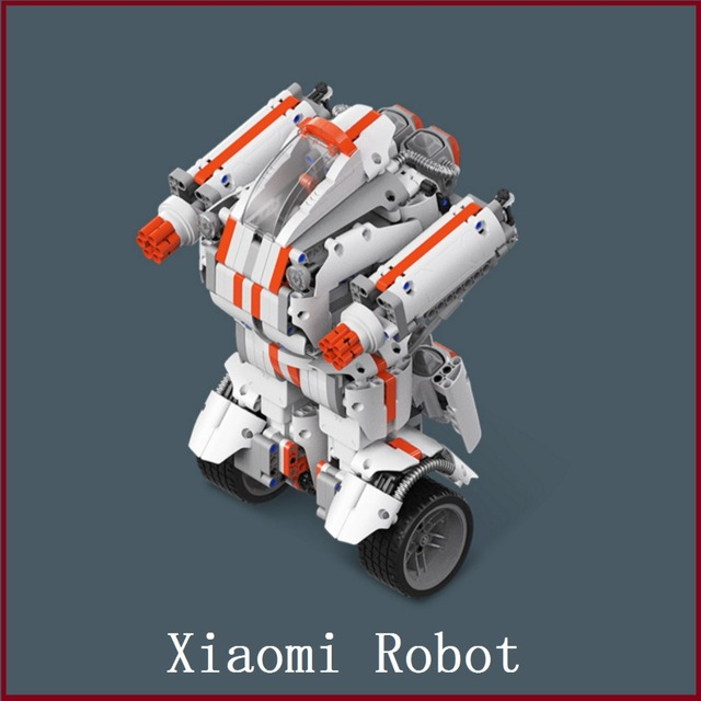 Xiaomi Robot Building Block Robot Bluetooth Mobile Remote Control Self-balance System Module Program