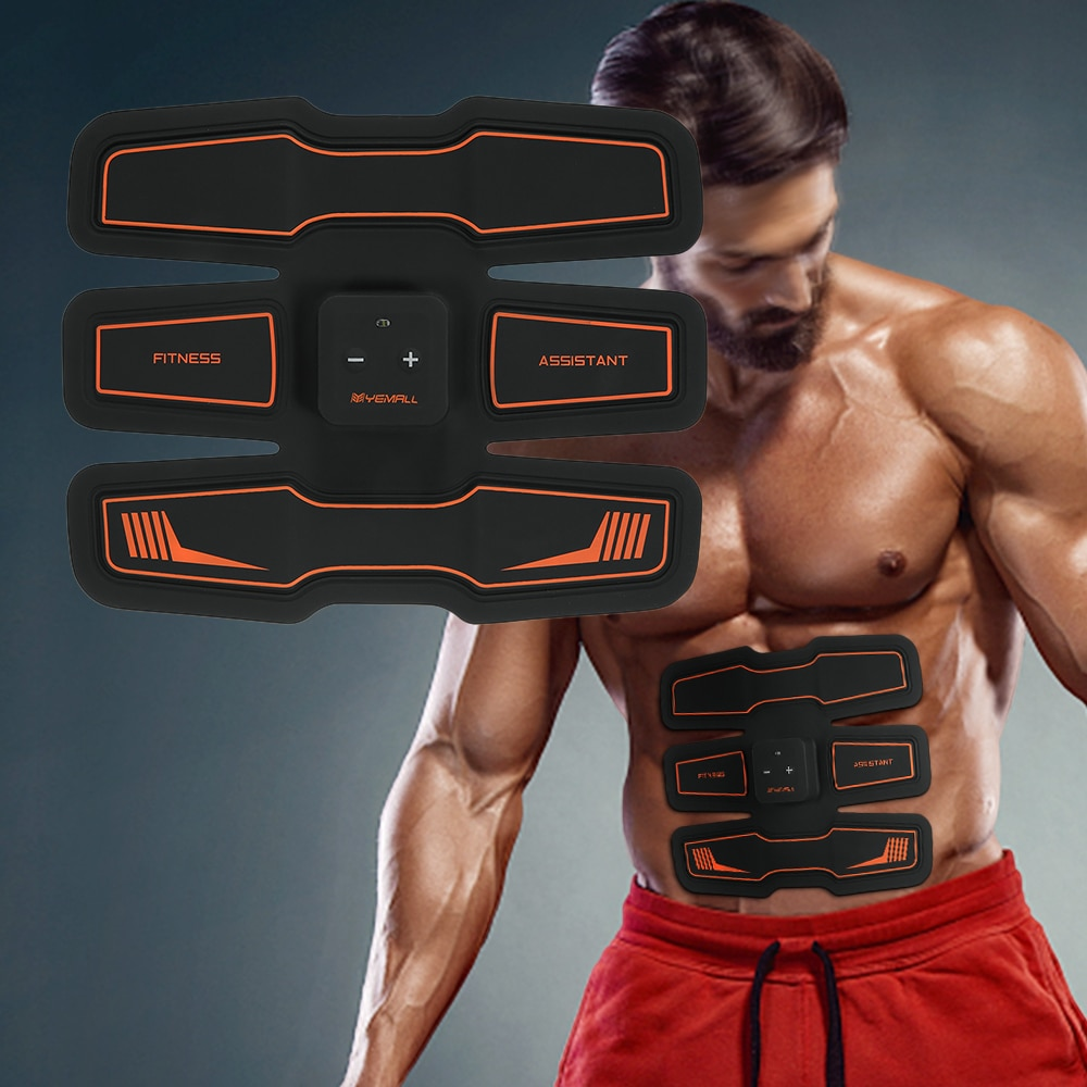 Abdominal Muscle Trainer Muscle Stimulator EMS Stimulation Body Slimming Machine Leg Arm Exercise Health Abdominal Toning Gear