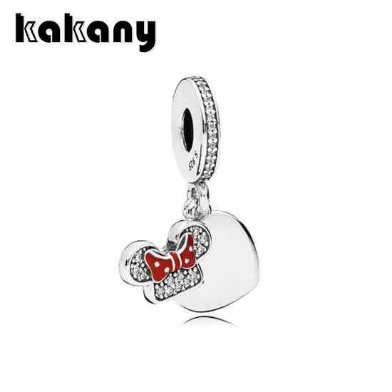 KAKANY 925 Sterling Silver Disne Mouse Mother Cartoon Necklace Pendant High Quality 1:1 European Fashion Womens Fashion JewelryKAKANY 925 Sterling Silver Disne Mouse Mother Cartoon Necklace Pendant High Quality 1:1 European Fashion Womens Fashion Jewelry