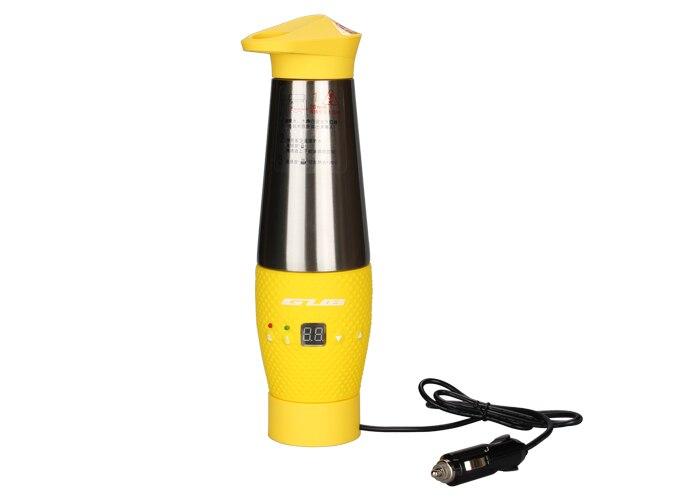 NOUVEAU GUB ZN20 voiture chauffage tasse double en acier inoxydable tasse technologie mulfuntional chaude tasse/tasse de voiture brûler bouteille dans Bicycle Water Bottle de Sports et loisirs