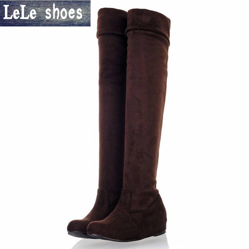 Flat Thigh High Boots Size 12 Promotion-Shop for Promotional Flat ...