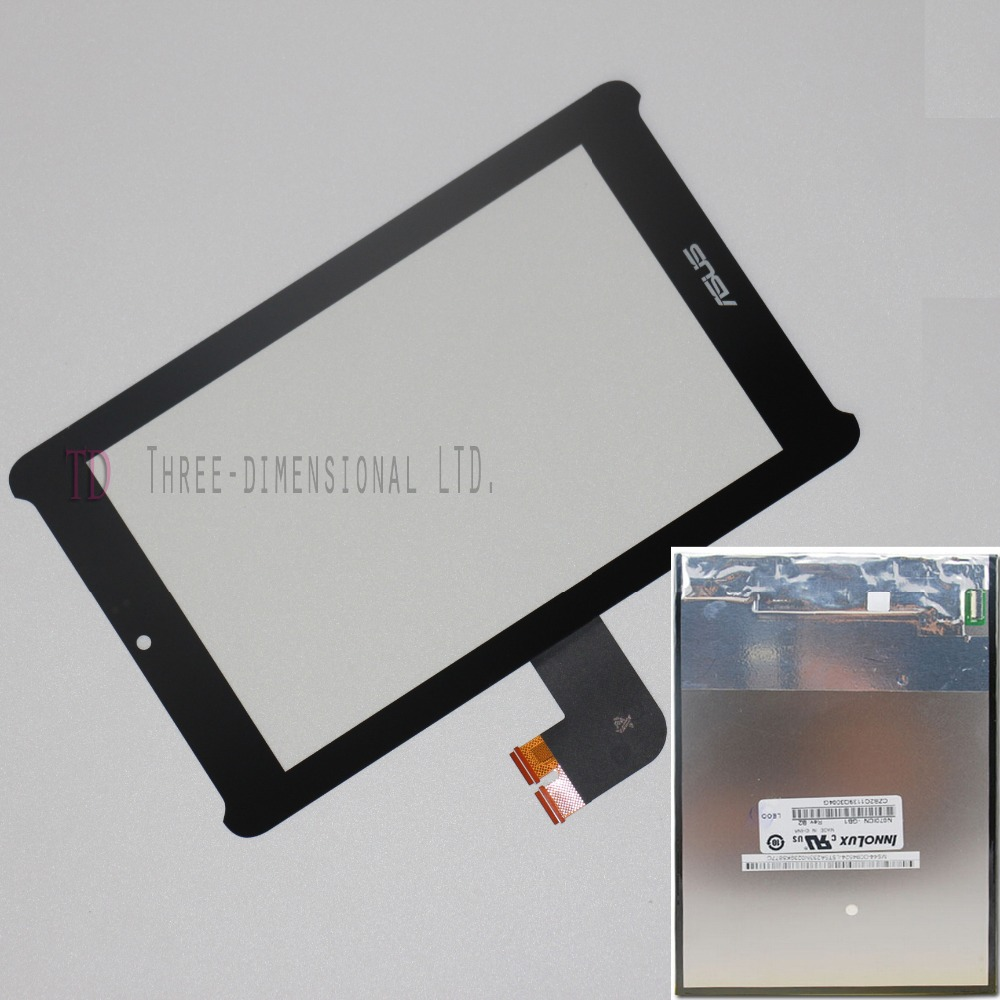 For ASUS Fonepad 7 LTE ME372CL K00Y Outer Touch Screen Digitizer Glass + LCD Display Replacement Parts Panel