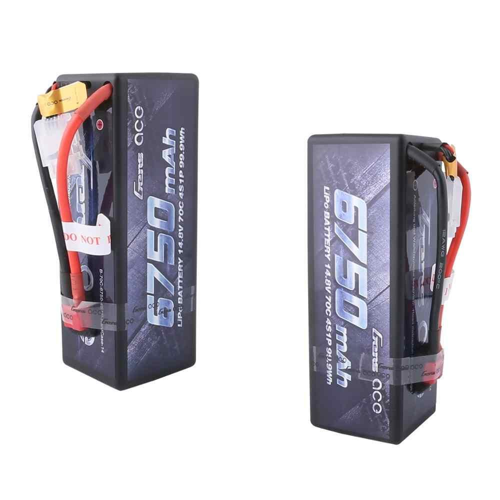 Gens ace 4S 6750 мАч Lipo 14,8 V Батарея пакет 70C XT90 Т-образный штекер для Traxxas X-maxx 1/8 автомобиля Lipo батарея квадроцикл лодка
