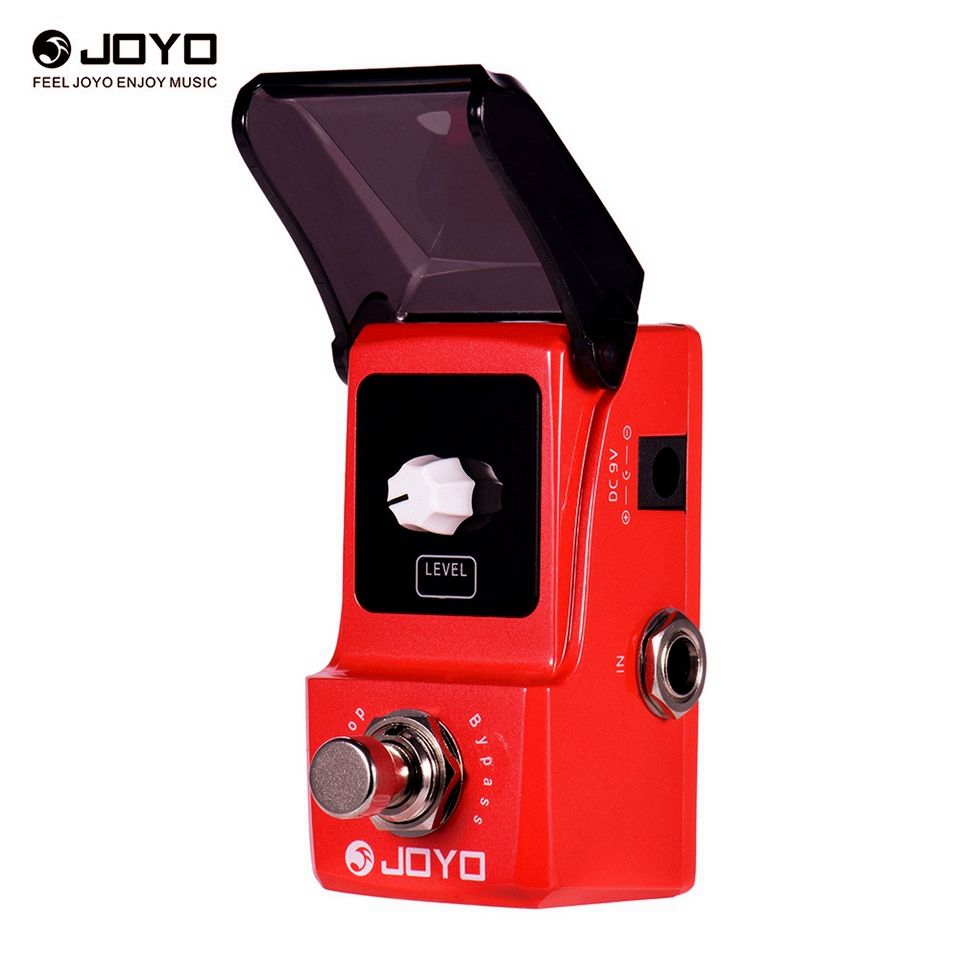 JOYO Ironloop Loop Recording Guitar Effect Pedal Looper 20min Recording Time Overdub Undo Redo Functions True Bypass JF-329 kokko guitar looper pedal electric guitar looper effect pedal unlimited overdubs 23 minutes recording true bypass