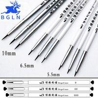 15Pcs Set Bgln Fine Hand Painted Hook Line Pen Drawing Pen Art Pen Paint Brush Color