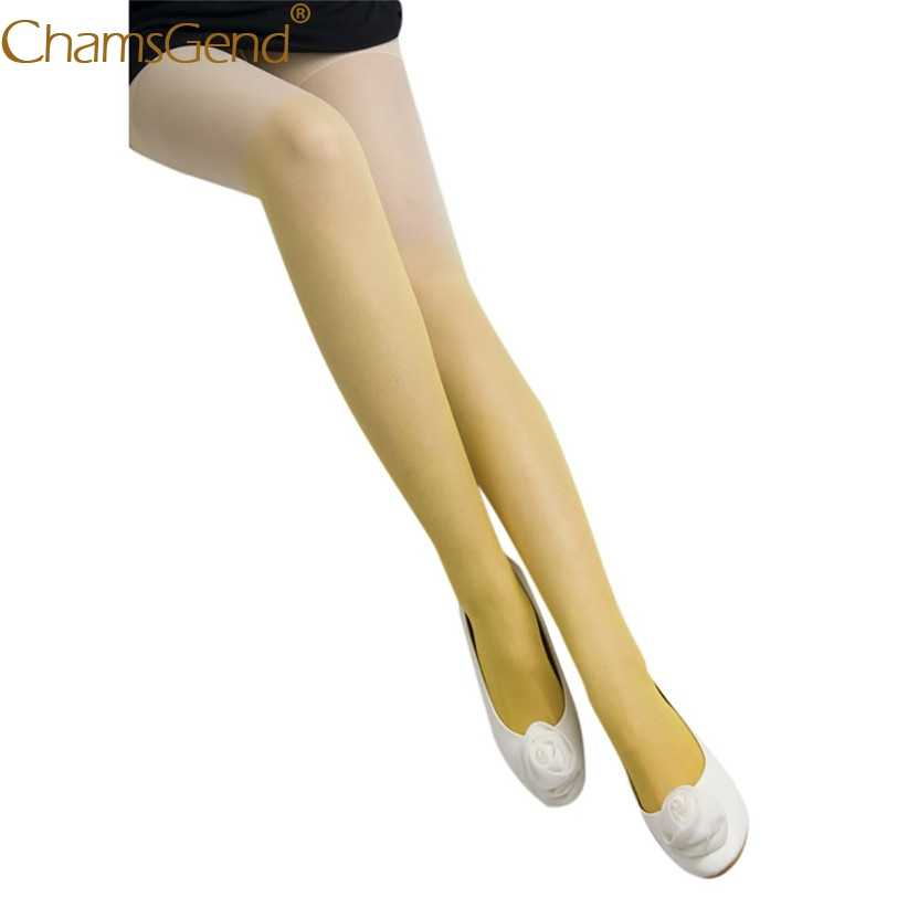 41d19f45d4e ... Newly Design Women Gradient Color Sexy Tights Fashion School Girls Over  Knee Skinny Pantyhose 80911 ...