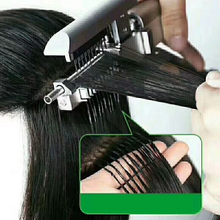Virgin 6d Extension Hair For Connector Invisible Hair Extension With Comb Unprocessed Human Hair For 6D Hair Extension Machine