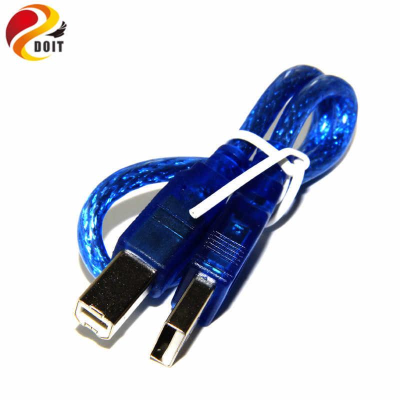 Linha de Impressão USB Luz Azul para Arduino Uno Mega 2560 30 R3 CENTÍMETROS Kit Diy RC Toy Electroincs Desenvolver