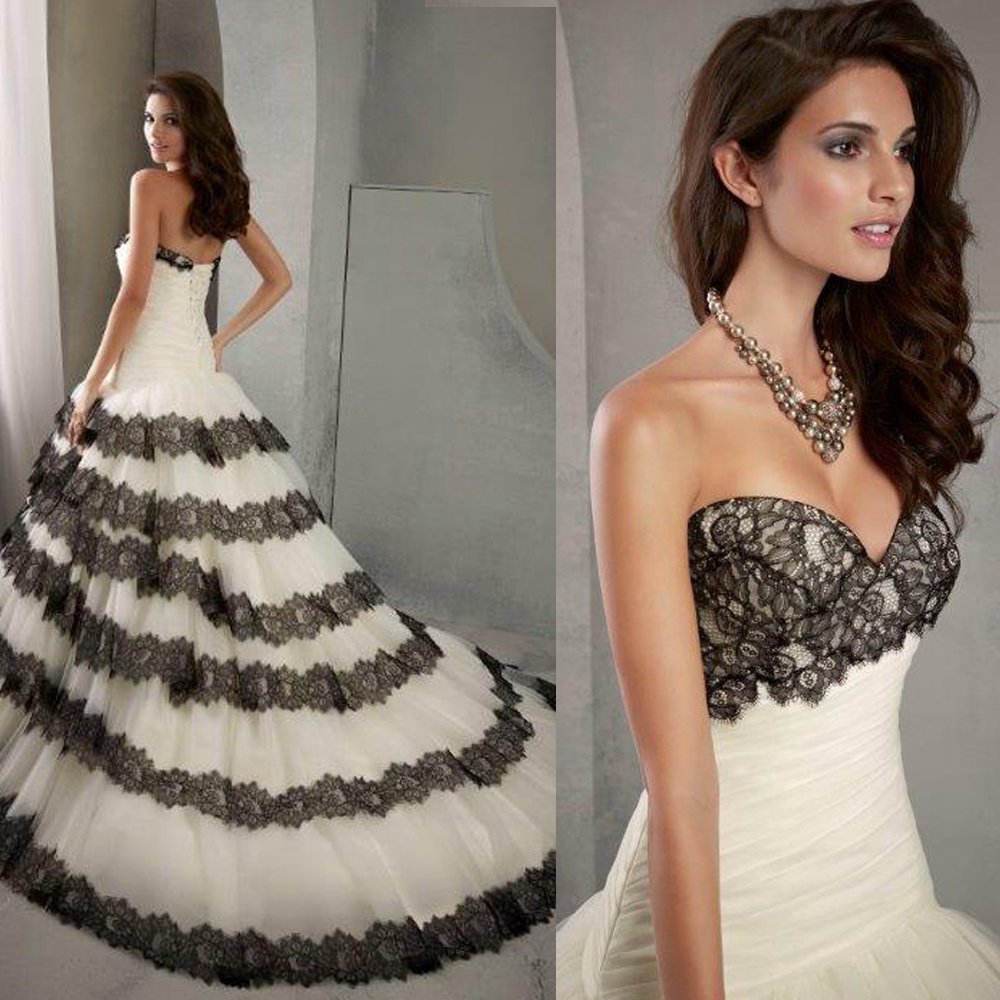 list detail white wedding dress with black lace overlay black white wedding dress Black Wedding Dress With White Lace All For Women
