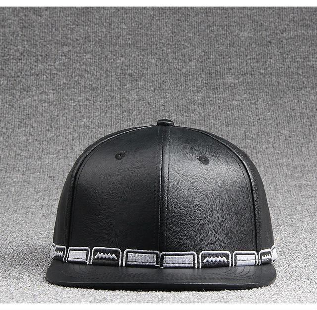 plain white baseball hat walmart caps cheap fitted cap leather edge rim hip hop