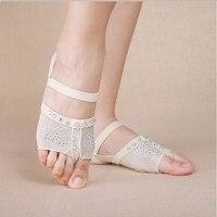 New 2017 Heel Protector Professional Ballet Dance Socks 1 Pair Belly Dancing Foot Thong Dance Accessories