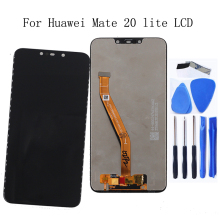 цена на 6.3-inch Original display For Huawei Mate 20 Lite LCD+touch screen digitizer component for mate 20 lite Screen lcd display+Tools