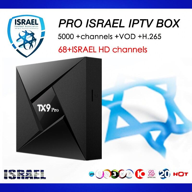 цена на Israel IPTV Box TX9 Pro S912 Android TV Box 7.1 3GB/32G pro IPTV Europe Nordic Sweden Nertherland m3u India IP TV Smart TV Box