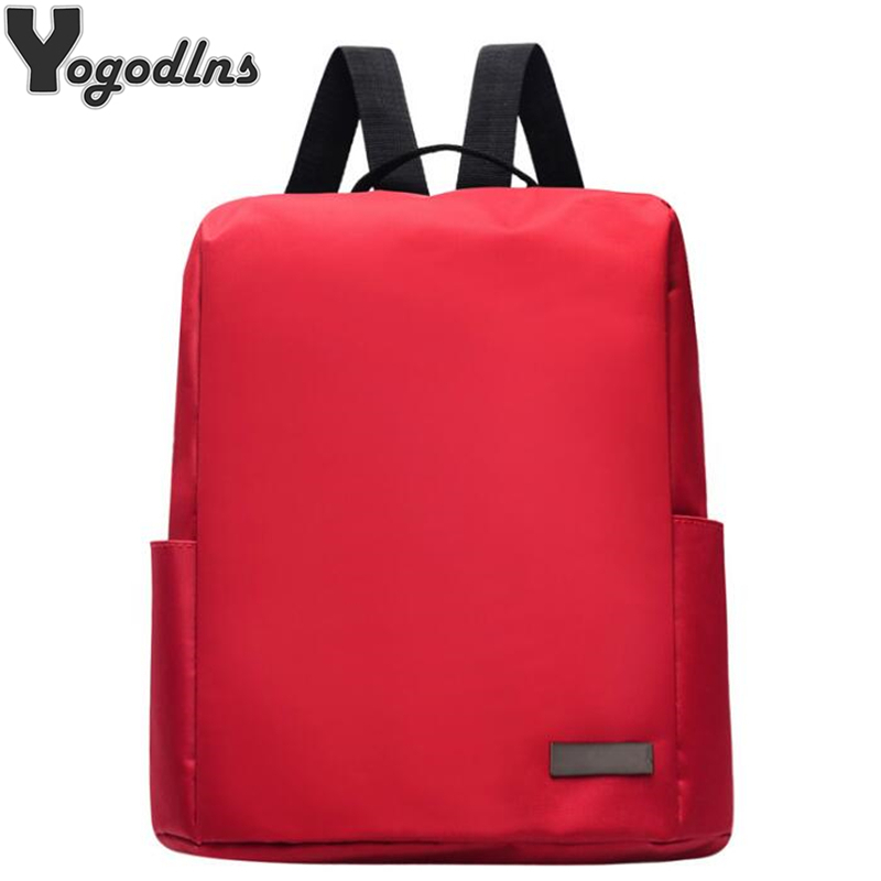 Fashion Simple Pure Color Backpack High Capacity Nylon Sports Backpacks for Women Zipper Shoulder Bags Teen Girls Boys DaypackFashion Simple Pure Color Backpack High Capacity Nylon Sports Backpacks for Women Zipper Shoulder Bags Teen Girls Boys Daypack