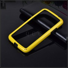 On Sale! New hybrid soft rubber protector frame tpu Bumper For Samsung galaxy Note 2 II n7100 Silicone cover phone bags case(China)