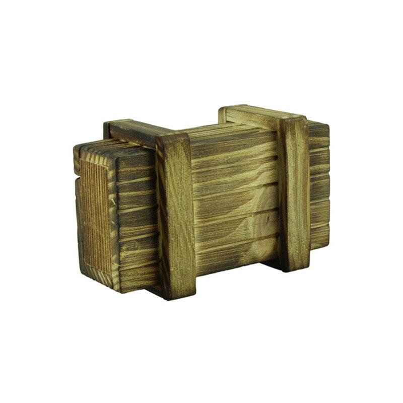 цена на Intelligence Magic Puzzle Wooden Secret Box Compartment Gift Brain Teaser