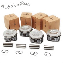 KEOGHS OEM 06H 107 065 AM ATG Piston & Big Wave Modified Ring Kit For Audi A4 Q5 VW Passat Golf Jetta 2.0TFSI Pin 21mm